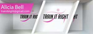 Train It Right - Banner