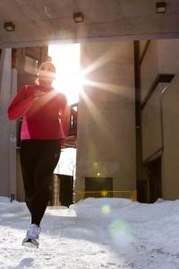 Alicia Bell - Winter Running